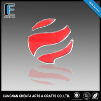 New products car accessories 3D chrome adhesive car emblem