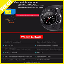 Online shopping 2017 cheap factory wholesale V8 smart watch for Android , ios