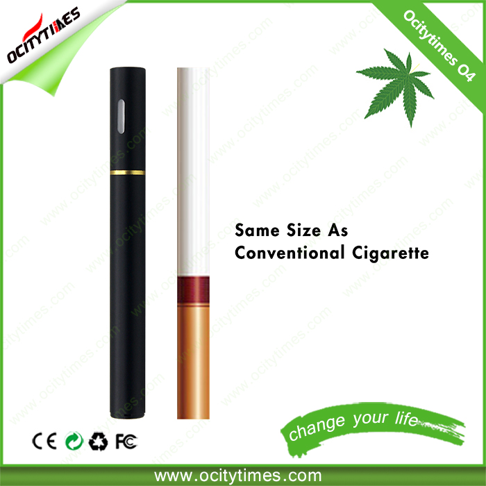 Ocitytimes O4 cbd oil disposable vape pen silicone tips plastic tube package disposable e cigarette with cheap price