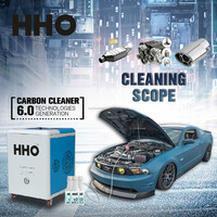 HHO Car carbon cleaning car testing computer