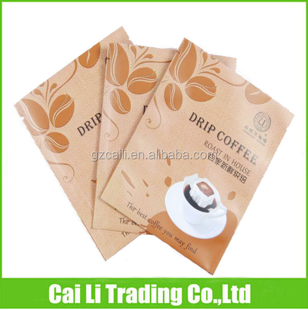 heat sealed aluminum foil weight loss coffee sachets