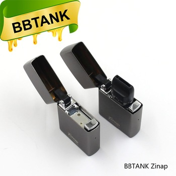 single use vaporizer pen BBtank Zinap with 410mAh battery 510 atomizer