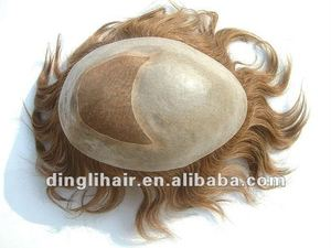 AAA Quality Unprocessed Machine Made Human Hair Toppers