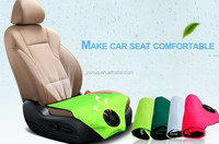 Car seat cushion with hydrogel injections cooling cushion