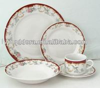 colorful porcelain dinnerware sets,commercial dinnerware set,dandelion porcelain dinnerware