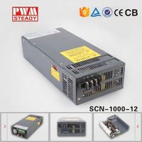scn-1000-12 factory outlet 1000w 12v 80a switching power supply s-1000-12 strip led switching model power supply