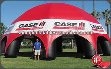 customized inflatable spider tent for sports or promotion