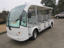 14 seats electric golf cart club car for golf courses with CE, 14 Seater electric aluminum golf cart