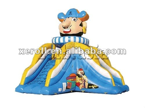New design good quality inflatable water slides