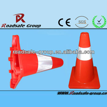 RSG 700mm pvc reflective caution cone