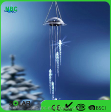 Wholesale Outdoor Garden Solar Wind Spinner,Wind Bell