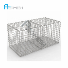 High Security Decorative gabion box wire fencing welded galvanized gabion baskets