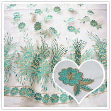 Hot Selling embroidery french lace fabric