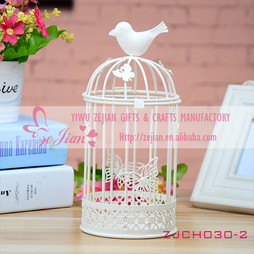 bird cage lantern tealight holder wholesale wedding decorations