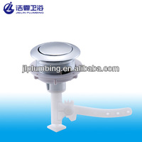 Single round water tank push button for toilet