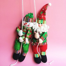 Hot-selling high quality christmas tree ornament climbing rope santa claus doll SD070