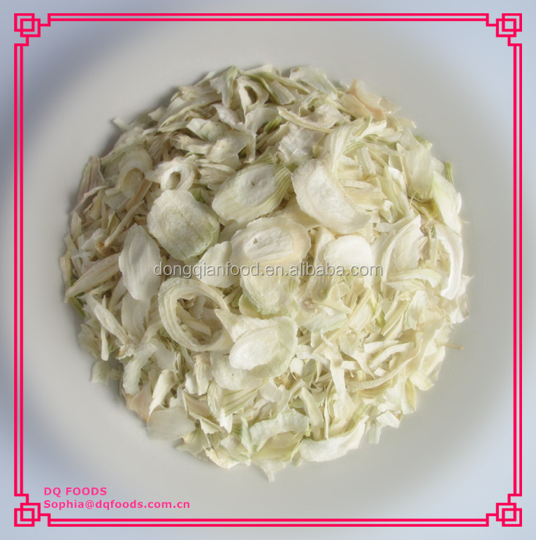 Dehydrated White Onion Flakes (Free Sample)