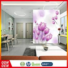 Hot Sales Cheapest Price Customized Oem Flower Design Wallpaper Murals 3D For Home Decoration