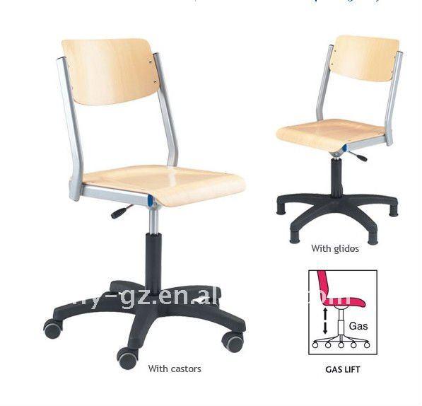 Sillas de oficina de altura ajustable de la escuela ni os sillas giratorias de los ni os de - Sillas de oficina ninos ...