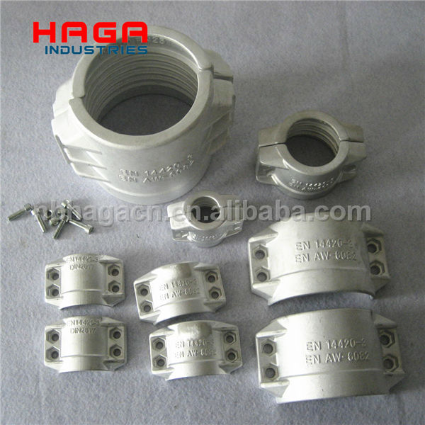 DIN 2817 Aluminum/Stainless Steel Safety Clamp