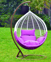 fashinable swing chair outdoor furniture rattan
