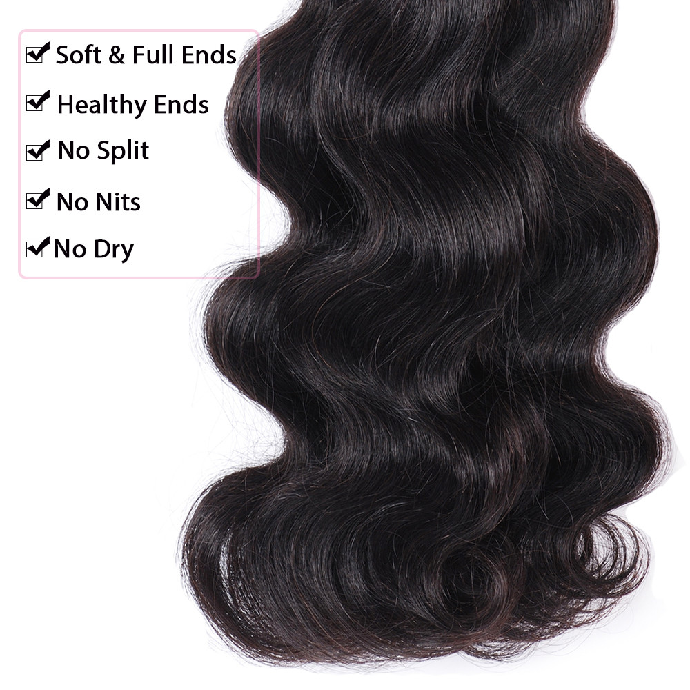 5A 6A 7A Grade Unprocessed Virgin Human Hair Body Wave Hair Extension Virgin Brazilian Hair