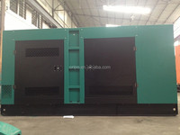 Silent type diesel generator set with iron canopy