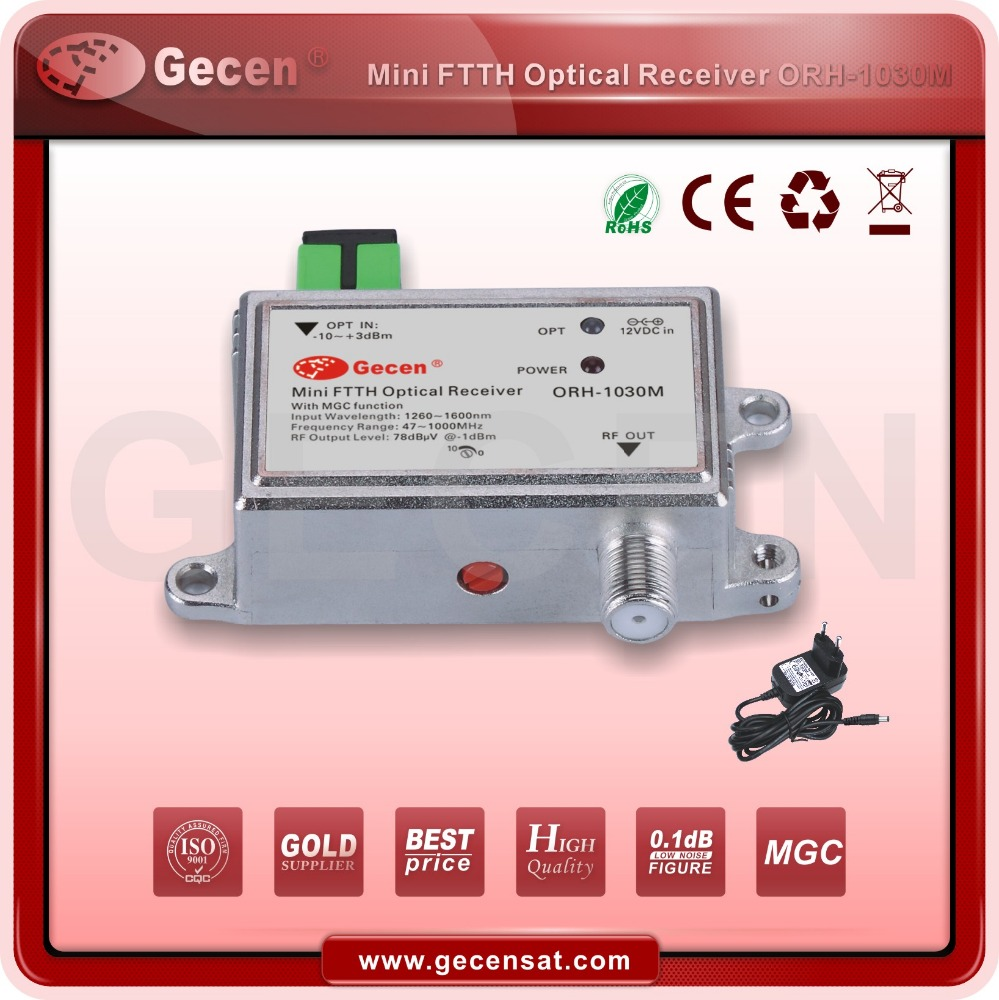 ORH-1030M CATV 47-1000MHz FTTH active fiber optical receiver with MGC