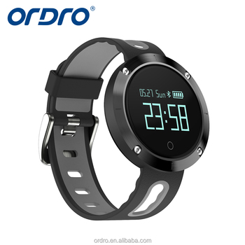ORDRO 2017 waterproof heart rate monitor band watch measure blood pressure men female children DM58 sport smart watches