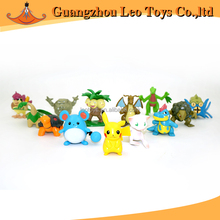 High Quality Customized Design Plastic Figure Pokemon Toys