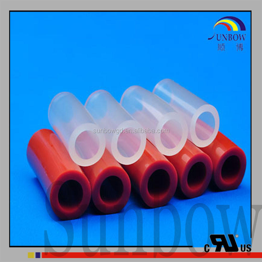 SUNBOW electrical insulation Pure Silicone Rubber Tube