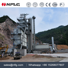New designed factory price 80t/h hot mix asphalt batching plant