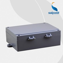 Saipwell Hot Sale 180*140*55mm Din Rail Enclosure Aluminum Waterproof Box
