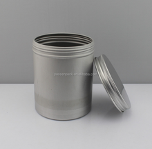 Aluminum airtight tea tin canister