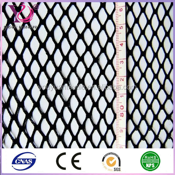 Fishing net material Durable polyester nylon fishing net heavy mesh fabric