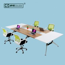 3.6meter Modular Large Square Meeting Table for Office Boardroom Design