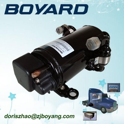 Hot Selling! R134A 12V 24V bldc compressor tractor dc for refrigerator mini portable van air conditioner for sale