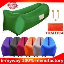 Factory in shenzhen banana inflatable sofa/ air chair for sale