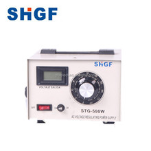 STG 500Watt Single Phase Electrical contact type Voltage Regulator Variac 220V 110V