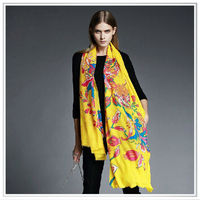 Customized Made Modal Cashmere scarf ,digital print high quality factory direct OEM scarf