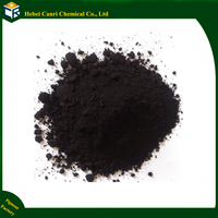 Inorganic color powder black iron oxide for concrete acid chemical stains