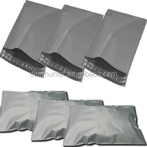60 microns ups/dhl plastic mail bags grey plastic mailing bags cheapest grey polymailer