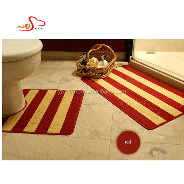 U shape Polypropylene kitchen flooring mat /toilet mat / shower door mat China