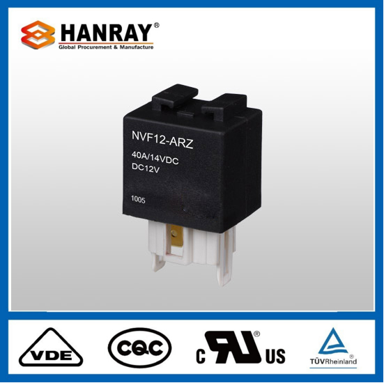 Hot Sale 4119 5-Pin 2 Pins Auto Relay