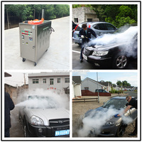 CE 20 bar gas eco vapor mobile steam car detailing products