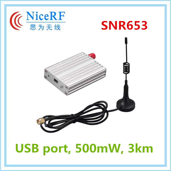 SNR653 - 3Km network router module 433mhz usb wireless rf transmitter and receiver
