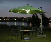 High Quality Patio Umbrella Garden Umbrella with LED Light Beach Umbrella
