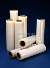 custom hands wrap shrinkable cheap packaging adhensive pvc stretch film