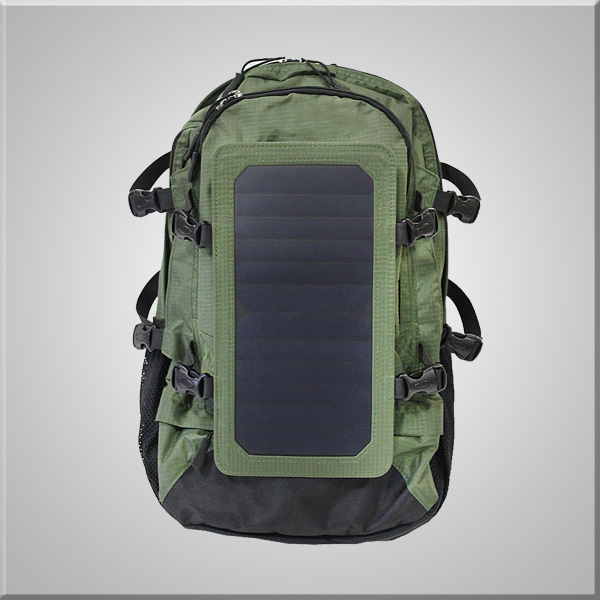 Solar Back Pack Solar Sports Backpack Durable Waterproof Backpack