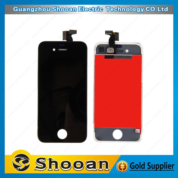 cherry mobile phone parts for iphone 4 gsm lcd touch assembly